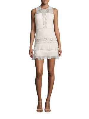 Oriana Embellished Lace Dress
