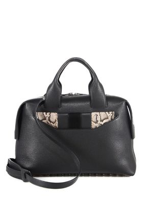 Rogue Large Leather Satchel