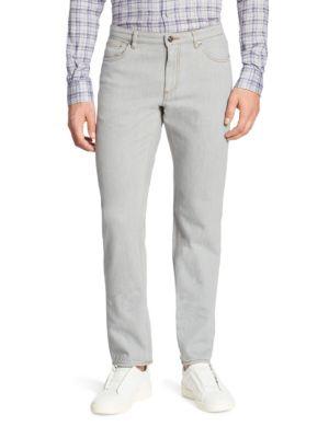 Five-Pocket Cotton Pants