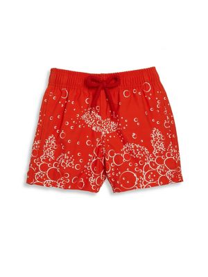 Baby's & Toddler Boy's Bubble Turtle Swim Trunks