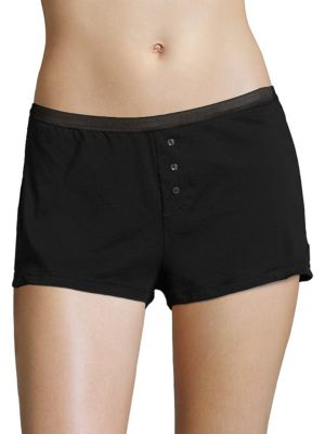 Pima Cotton Pajama Shorts