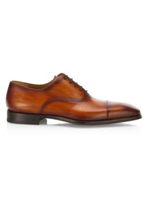 COLLECTION BY MAGNANNI Cap Toe Calf Leather Oxfords