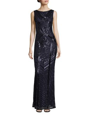 Vicky Beaded Gown