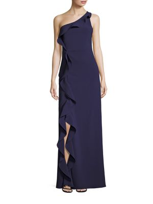 Paxon One-Shoulder Gown