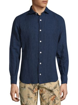 Allover Patterned Regular-Fit Shirt