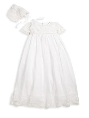 Baby's Christening Blessing Gown & Bonnet Set
