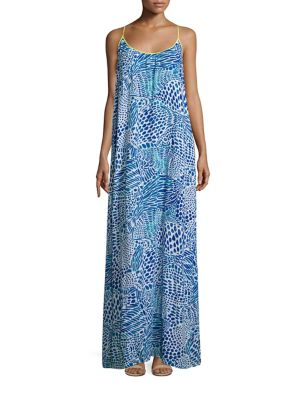 Kendra Printed Maxi Dress