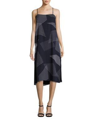 Buy DKNY Embroidered Striped Dress online with Australia wide shipping