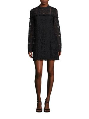 Matilda Lace Mockneck Dress