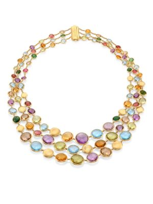 Jaipur Semi-Precious Multi-Stone Necklace