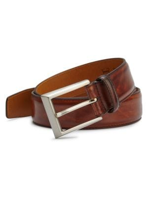 COLLECTION BY MAGNANNI Leather Belt