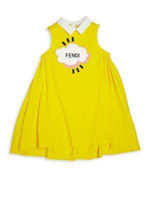 Toddler's, Little Girl's & Girl's Sleeveless Collar Dress