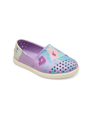 Baby's, Toddler's & Kid's Verona Perforated Floral Rubber Slip-On Sneakers