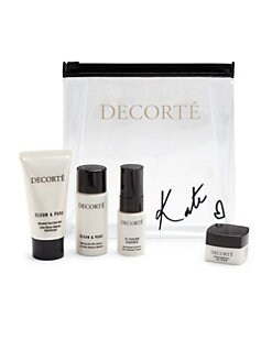 Receive a free 4- piece bonus gift with your $150 Decorté purchase