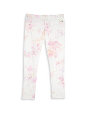 Baby's Floral Printed Pants