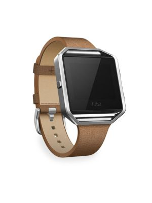 FITBIT Luxe Leather Blaze Large Tapered Band & Frame