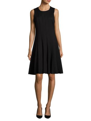 COLLECTION Sleeveless Crew Neck Dress