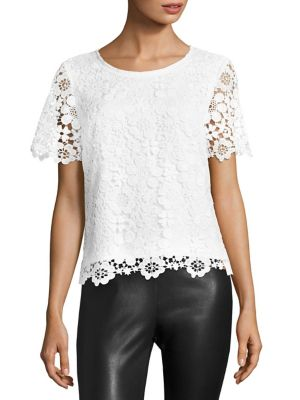 COLLECTION FLoral Lace Top