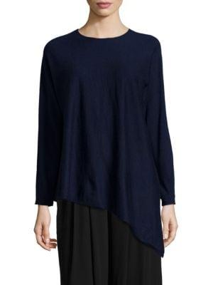 Cashmere Asymmetrical Tunic