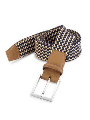 COLLECTION Woven Cotton Belt