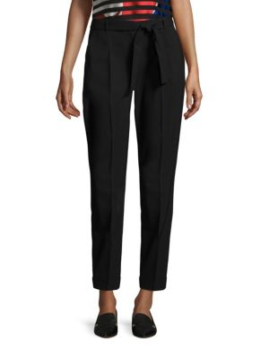 Tilesa Slim Leg Virgin Wool Trousers