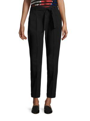 Tilesa Slim Leg Virgin Wool Trousers