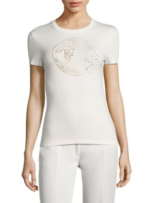 Rhinestone Tee by Versace Collection