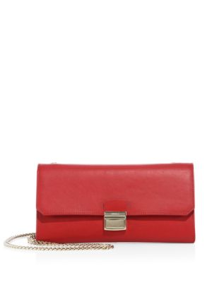 Sinfonia Leather Mini Clutch