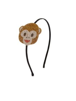Kid's Monkey Emoji Hair Band