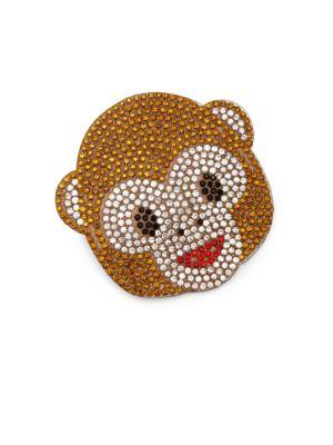 Kid's Monkey Emoji Hair Clip