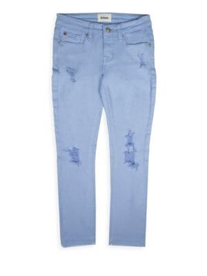 Girl's Cropped Skinny Jeans