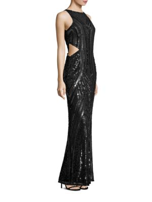 Paulina Embellished Cutout Gown