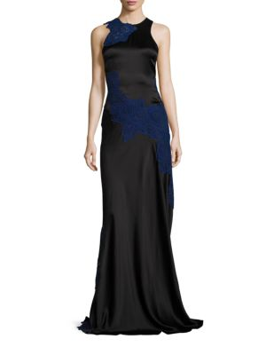 Silk Lace Gown
