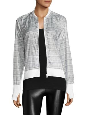 Feather Weight Heathered Jacket
