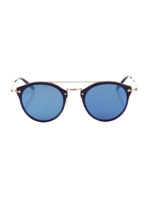 Remick 50MM Round Sunglasses