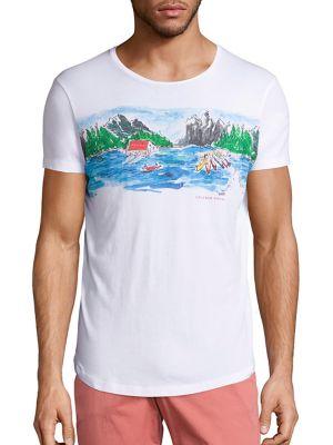 Richard Haines Graphic Printed T-Shirt