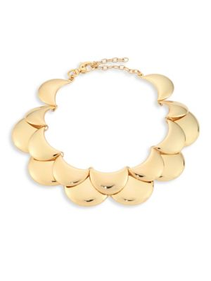 Lele Sadoughi Golden Cove Necklace 9clMGRRyn