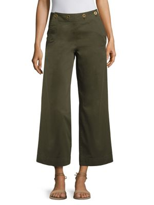 Namid TS Wide-Leg Chino Pants