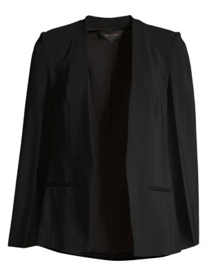 Natalie Cape-Sleeve Jacket