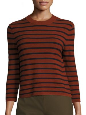 Lemdora Prosecco Striped Top by Theory