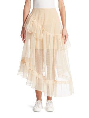 Three-Tier Tulle Skirt