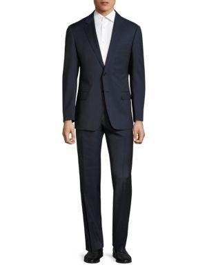 Plaid Wool Suit