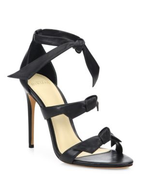Lolita Bow Leather Sandals
