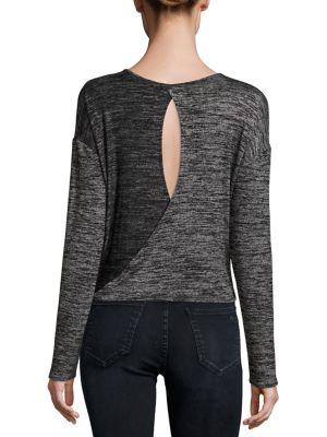 Mia Twisted Open Back T-Shirt by rag & bone/JEAN