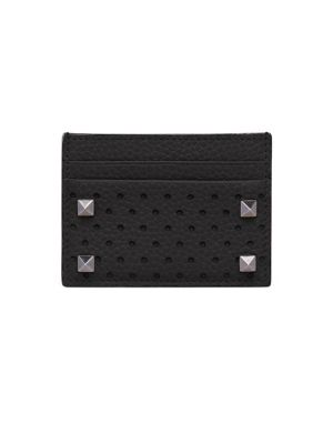Perforated Leather Card Holder