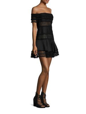 Salvadore Off-The-Shoulder Mini Dress