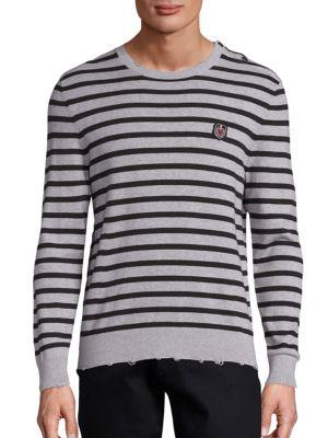 SPORT Striped Cotton Sweater