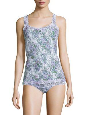 Violet Spray Lace Camisole by Hanky Panky