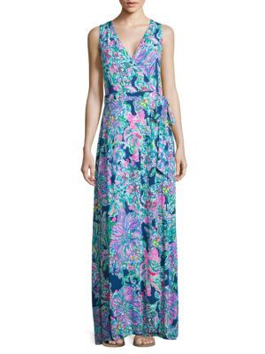 Delfina Maxi Wrap Dress