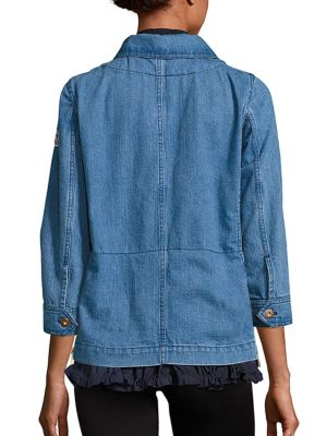 MONCLER Houx Denim Jacket